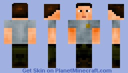 Shane Walsh ~ The Walking Dead Minecraft Skin