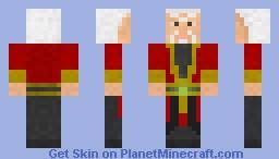Shang Tsung Minecraft Skin
