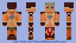 Shao Kahn- Emperor of Outworld Minecraft Skin