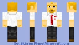 Shaun (of the Dead) Minecraft Skin