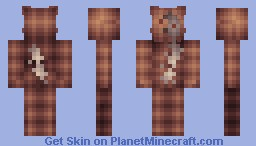 Shredded Teddy - 19th Place - (Monster in the Closet Contest) Minecraft Skin