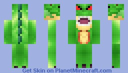 Shenlong The Dragon Minecraft Skin