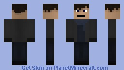Sherlock [21st century]: Sherlock holmes Minecraft Skin