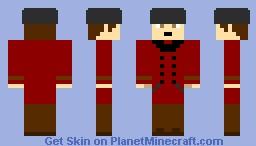 Shinjiro Aragaki (Persona 3) Minecraft Skin