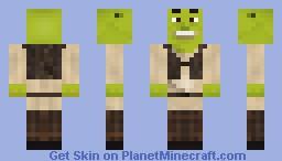 Shrek Minecraft Skin