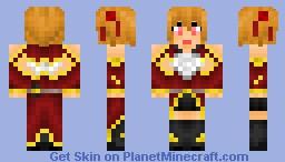 Silica [Ayano Keiko[Sword Art Online] Minecraft Skin