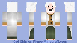 Silvers Rayleigh (One Piece) Minecraft Skin