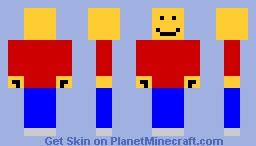 Lego Man Minecraft Skin