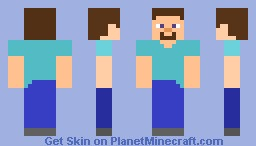 Simple Steve (looks better in preview) Minecraft Skin