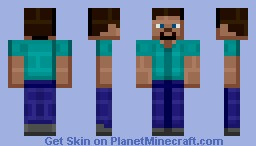 CDL's Handsome Bricks' Steve! Minecraft Skin