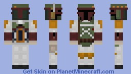 Boba Fett- Simplified! Minecraft Skin