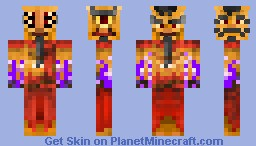 Yiam's Magical Skins - Simsalabim the Confusing Wizard Minecraft Skin