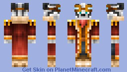Sir Fluffy Panda Minecraft Skin