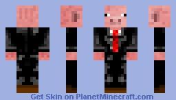Sir Piggy Minecraft Skin