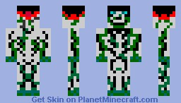 Deep Sea Skeletal Pirate-With Background story! Minecraft Skin