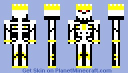 Skeleton King Minecraft Skin
