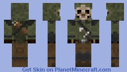 Skeleton ranger Minecraft Skin