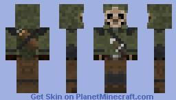 Skeleton ranger Minecraft Skin