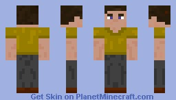 Joe with the boring life. Plain.... and awesome!!! Minecraft Skin