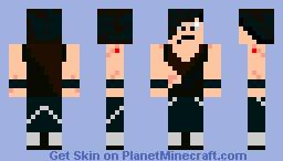 Emo guy Minecraft Skin