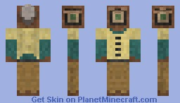 3 Eyed Cyclop Minecraft Skin