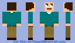 Mr. Nice [Better in 3D!] [Transparent Glasses!] Minecraft Skin