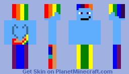 Rainbow Dash (My little pony pack) Minecraft Skin