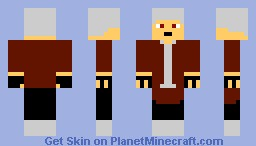 Dante from Devil May Cry (Contest) Minecraft Skin