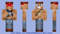 Commando Cowboy Minecraft Skin