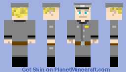 SS Officer Minecraft Skin