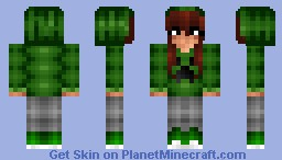 Creeper Girl ~Skin For The_Soup Minecraft