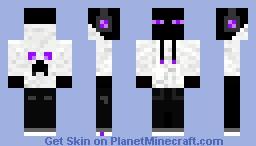Hoodie Enderman Minecraft Skin