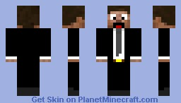 Adxm In A Suit! Minecraft Skin