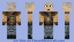 Old Miner Minecraft Skin