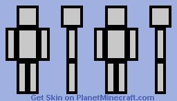 Skin Template Minecraft Skin