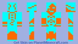 2 Colour Challenge (2nd Skin) Minecraft Skin