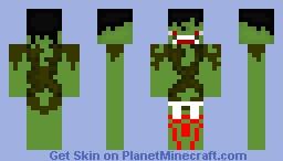 Swamp Beast Minecraft Skin