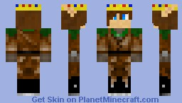 A skin for Leafinnie Minecraft Skin