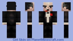 Gangster Boss [Moving Face] Minecraft Skin