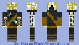 Heavenly Hunter Minecraft Skin