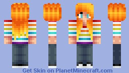 Request from Skittles ( Hair Test thing x3) Minecraft Skin