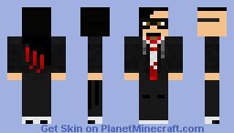 Skrillex (Sonny Moore) by Ints12 Minecraft Skin