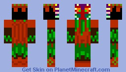 Masked Fool: Skull Kid Minecraft Skin