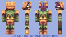 Skull Kid - Majora's mask Minecraft Skin