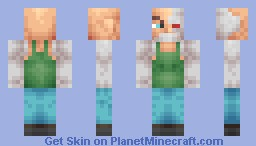 Skullcrusher the Bounty Hunter Minecraft Skin