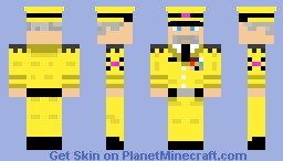 Sky Army General Minecraft Skin