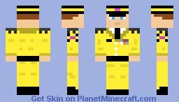 Sky Army Lieutenant Minecraft Skin