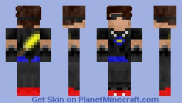 Sky Army Member (Updated!) (Different on 3D preview!) Minecraft Skin
