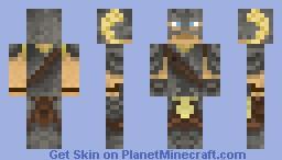 Dragon Born (Dovahkiin) - Contest Skin - Better In Preview! Skyrim Minecraft Skin