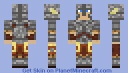 Skyrim Steel Armor Minecraft Skin